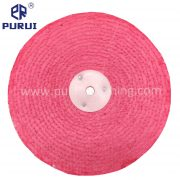 pink treated sisal buffing wheel
