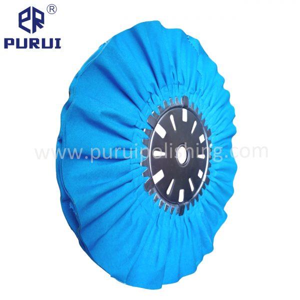 Bias blue airway buffing wheels