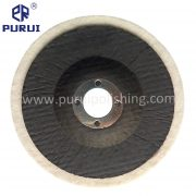 High quality felt polishing disc