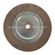 abrasive flap wheel with wooden center