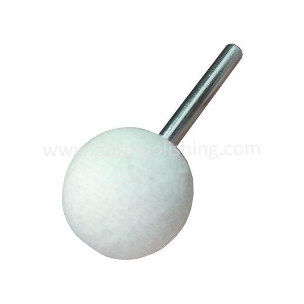 ball shape felt polishing bobs