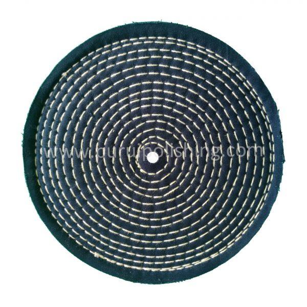 colour stitched polishing wheels