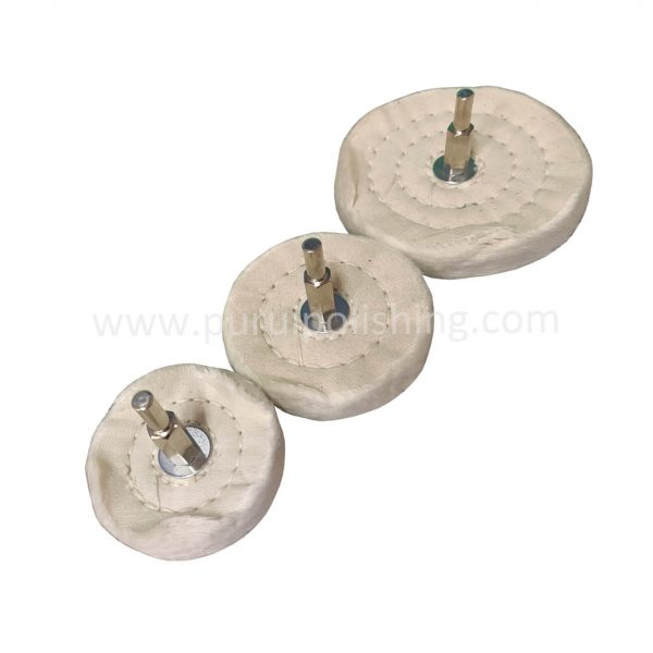 cotton buffing wheel for drill