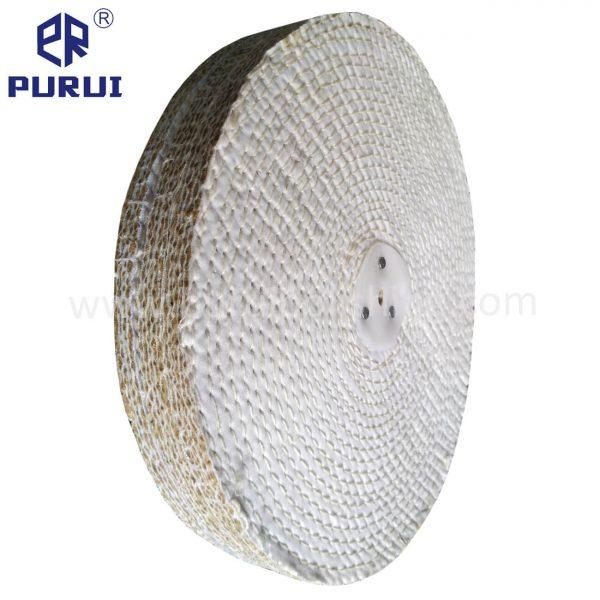 sisal polishing wheel with washer