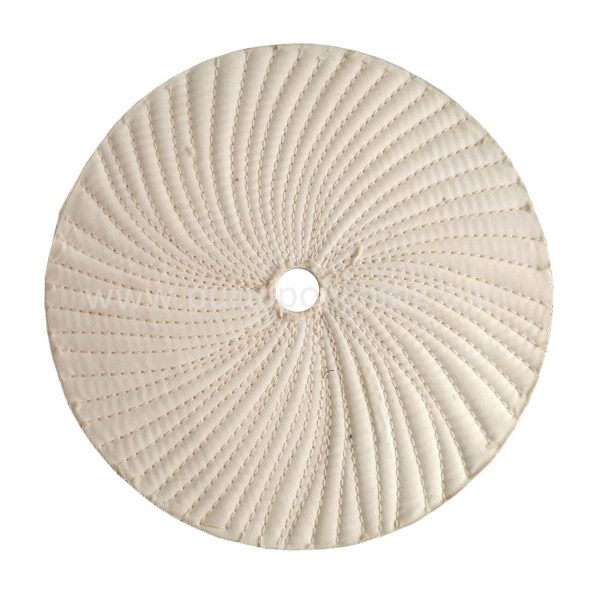 tagent sewn cotton buffing wheel