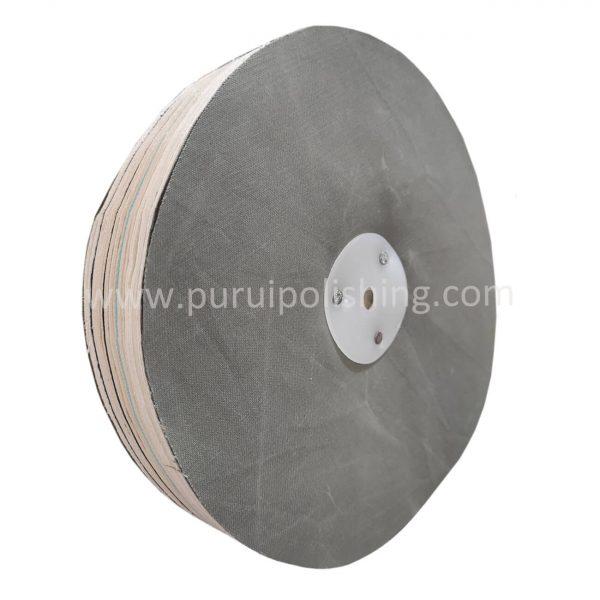 treated loose leaf buffing wheels