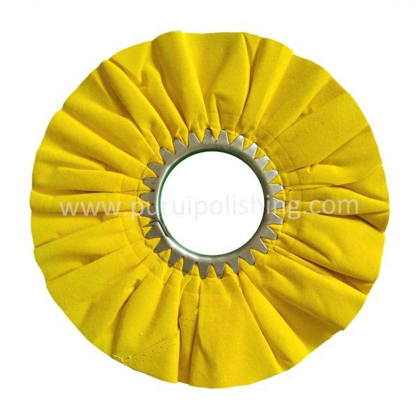 yellow airway buffing wheel
