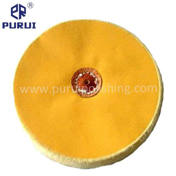 yellow muslin buffing wheel