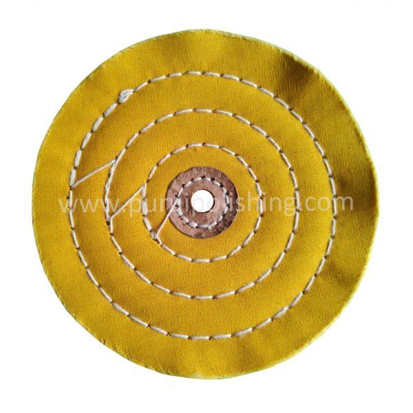 yellow muslin buffing wheels