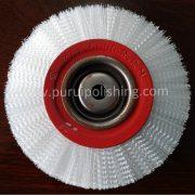non abrasive nylon wheel brush