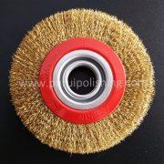 steel wire brush wheel