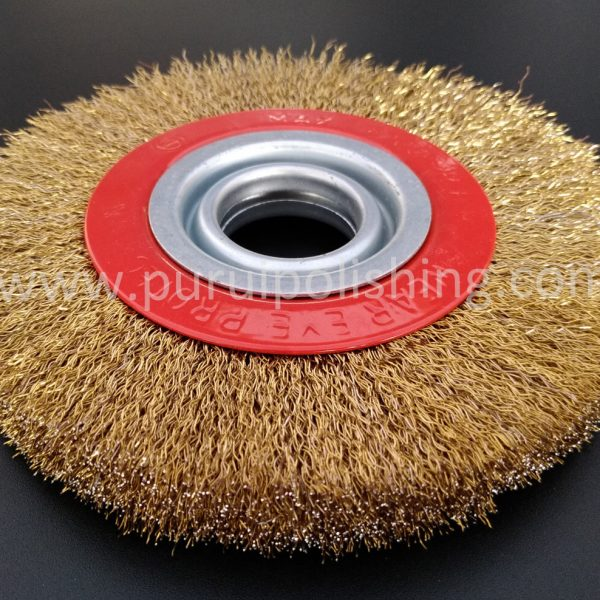 steel wire wheel brush