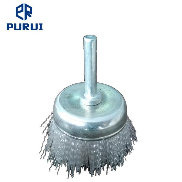 Non Abrasive Nylon Wheel Brush With 1/4\