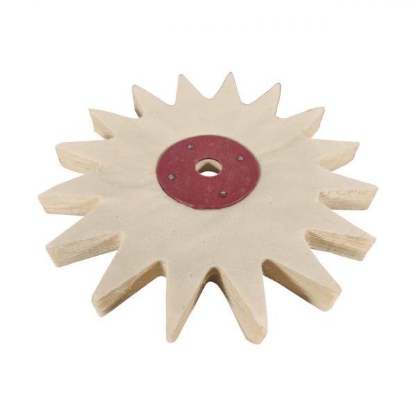 8 Inch buffing wheel with tooth