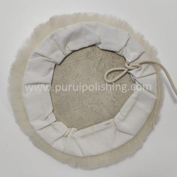 Lambswool Polishing Bonnet with Drawstring