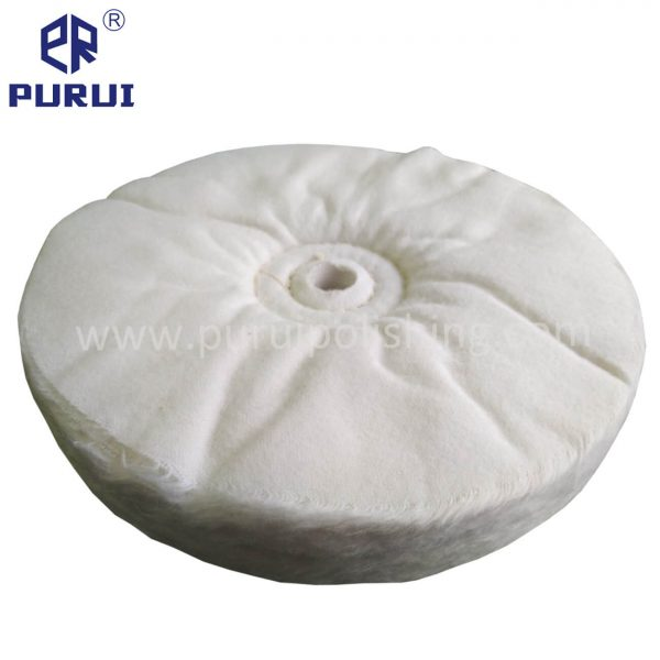 loose fold canton flannel buffing wheel without washer