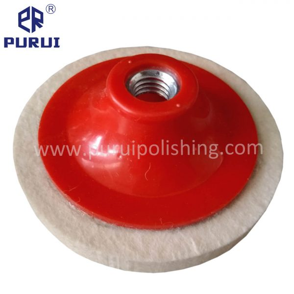 felt polishing wheel for angle grinder