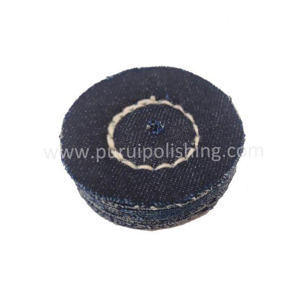 small denim buffing wheel