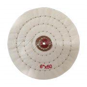 6 inch buffing wheel white