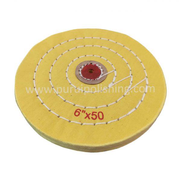 6 inch buffing wheel yellow