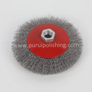 Natural 115mm Angle Grinder Wire Brush
