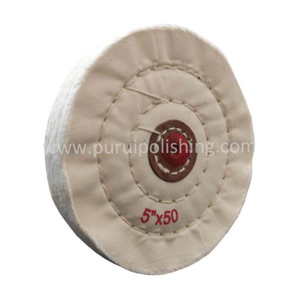 5 inch buffing wheel white