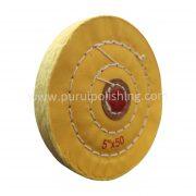 5 inch buffing wheel yellow