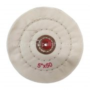 white 5 inch buffing wheel
