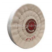 4 inch buffing wheel white