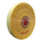 4 inch buffing wheel yellow